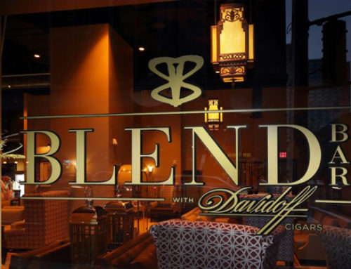 Eat, Drink, and Smoke, at Blend The Cigar Bar